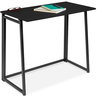 Best Choice Products 31.5in Folding Drop Leaf Desk for Home Office w/ Wood Table Top	Space Saving