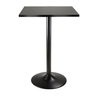 Obsidian Counter Height Pub Table Wood/Black - Winsome