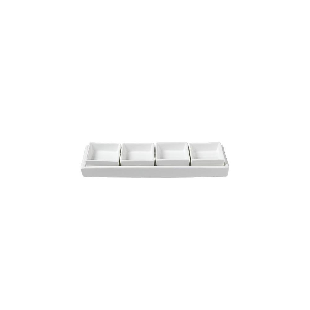 Image of Multipurpose Condiment Server, White