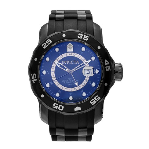 Men's Invicta 6996 Pro Diver Stainless Steel Strap Watch - Black - image 1 of 3