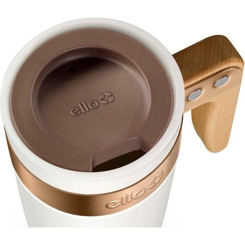 38eabb78aac Ello Fulton Ceramic Coffee Travel Mug 16oz - White : Target