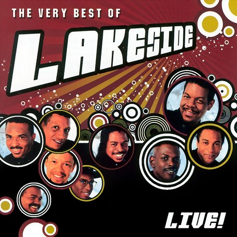 Lakeside - Very Best Of Lakeside Live (CD) - image 1 of 1