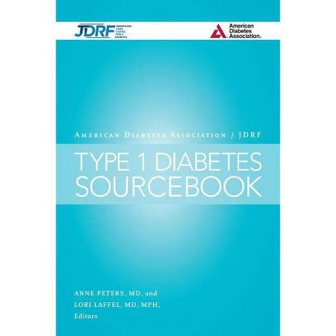 The American Diabetes Association/Jdrf Type 1 Diabetes Sourcebook - (Hardcover) - image 1 of 1