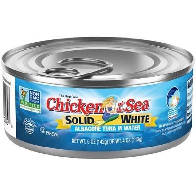 Chicken of the Sea Solid White Albacore Tuna in Water - 5oz