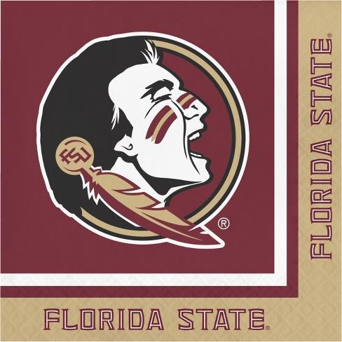 20ct Florida State Seminoles University Napkins - NCAA - image 1 of 3
