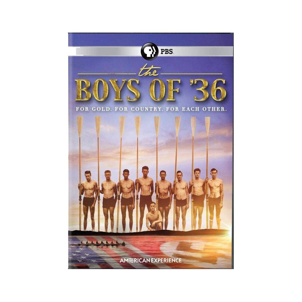 American Experience Boys Of 36 Dvd