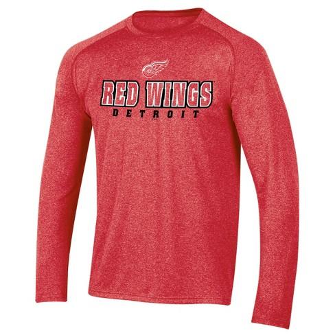 c9fb600e5e6 Detroit Red Wings Men s Goal Scorer Long Sleeve Performance T-Shirt ...