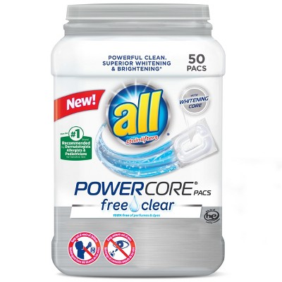 Laundry Detergent: All Powercore Free Clear