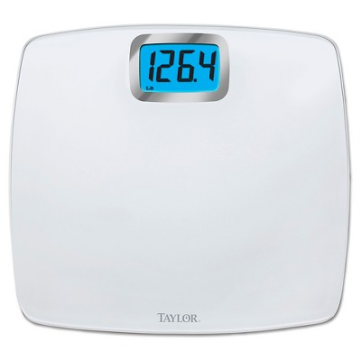Digital Glass Scale White - Taylor