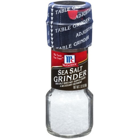 McCormick Sea Salt Grinder - 2.12oz - image 1 of 4