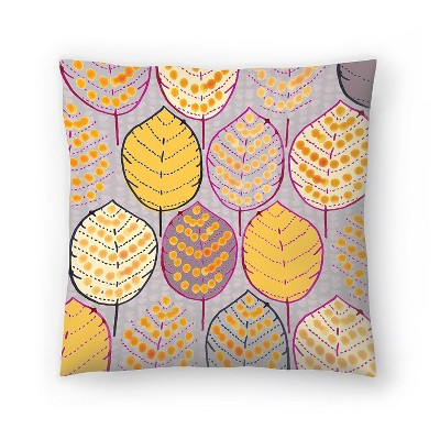 Americanflat Autumn Leaves By Rebecca Prinn 16 0 H X 16 0 W X 1 5 D Target