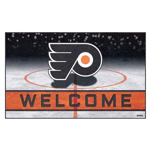 """NHL Philadelphia Flyers Crumb Rubber Door Mat 18""""x30"""" - image 1 of 1"""