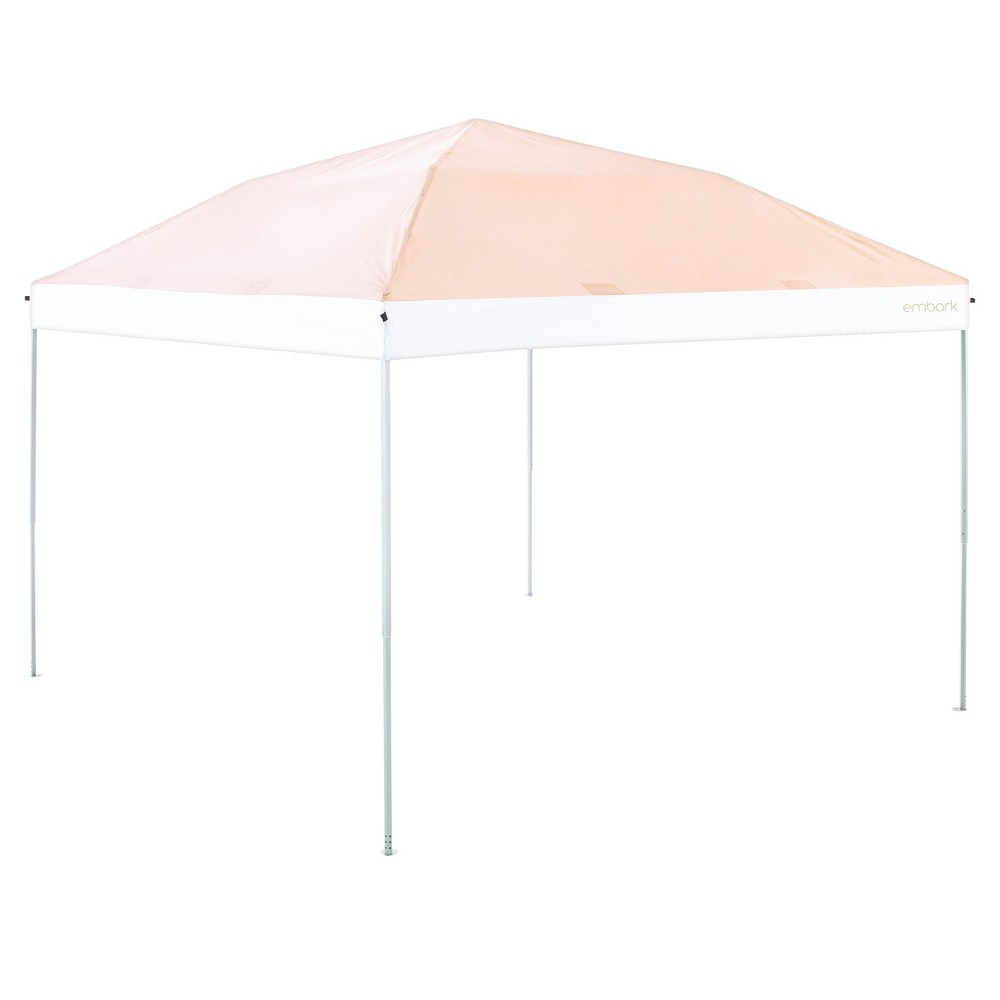 Image of 10'x10' Canopy Tent Tan - Embark, White