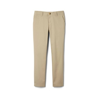 French Toast Young Womans' Uniform Chino Pants - Khaki