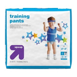 Training Pants for Boys - 2T-3T (26ct) - Up&Up™