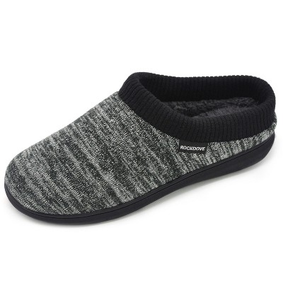 RockDove Men's Elastic Collar Hoodback Slipper