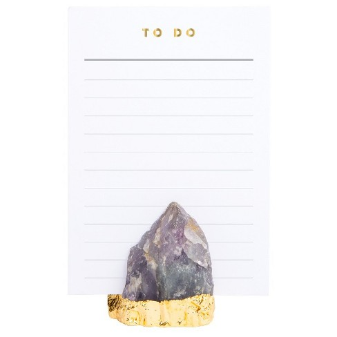 20ct Amethyst To Do Notepad - image 1 of 1
