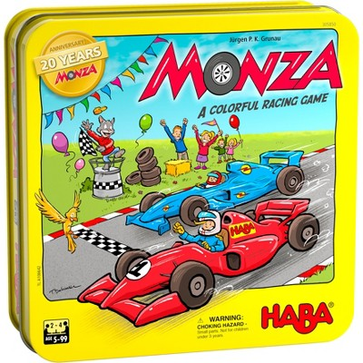 HABA Monza 20th Anniversary Limited Edition Classic Racing Game in Tin