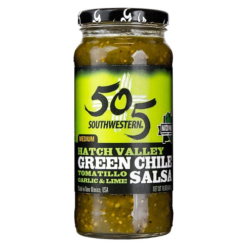 505 Southwestern Green Chile Salsa with Tomatillo, Garlic & Lime 16 oz - image 1 of 1