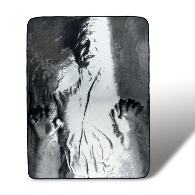 Surreal Entertainment Star Wars Collectibles Han Solo Lightweight Fleece Blanket | 46 x 60 Inches