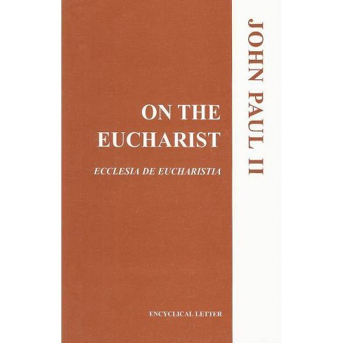 On the Eucharist - (Paperback) - image 1 of 1