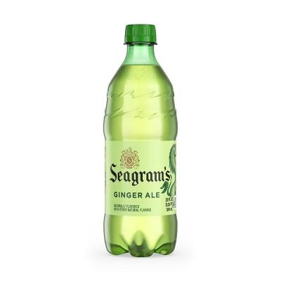 Seagram's Ginger Ale - 20 fl oz Bottle