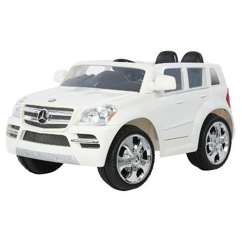 Mercedes Power Wheels >> Rollplay Kids Ride On 6v Mercedes Benz Gl450 Suv White