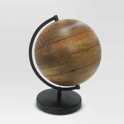 Wood Globe - Threshold™