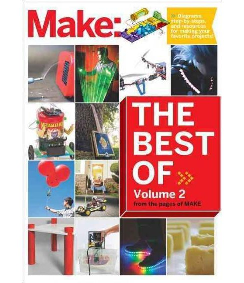 Best of Make : 65 Projects and Skill Builders from the Pages of Make (Vol 2) (Paperback) - image 1 of 1