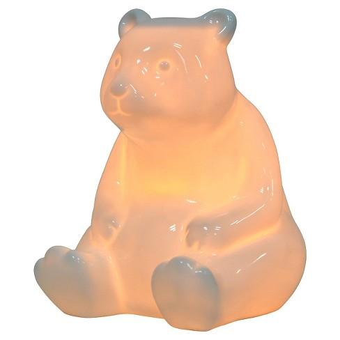 Bear Nightlight White - Pillowfort™ - image 1 of 4