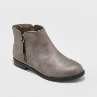 Girls Jani Metallic Ankle Fashion Boots - Cat & Jack™ Rose Gold 4