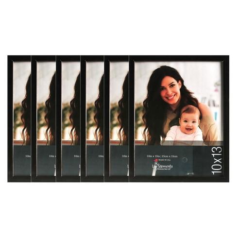 """Black Wood Frame Set (10""""X13"""") Set of 6 - image 1 of 4"""