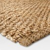 5'X7' Annandale Area Rug Solid Natural - Threshold™ - image 2 of 2