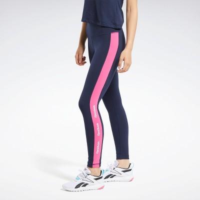 Reebok Training Essentials Linear Logo Leggings Womens Athletic Pants
