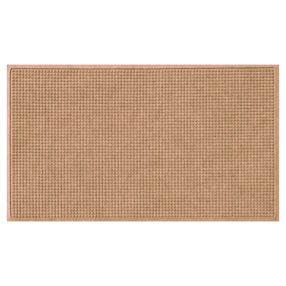 Light Brown Solid Doormat - (3'X5') - Bungalow Flooring
