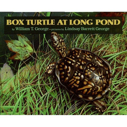 Box Turtle at Long Pond - by  William T George (Hardcover) - image 1 of 1
