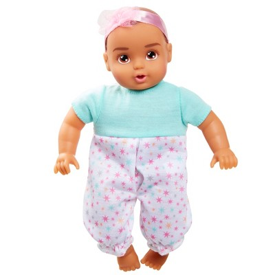 """Perfectly Cute My Lil' Baby - 8"""" Baby Girl Doll - Brunette Hair"""