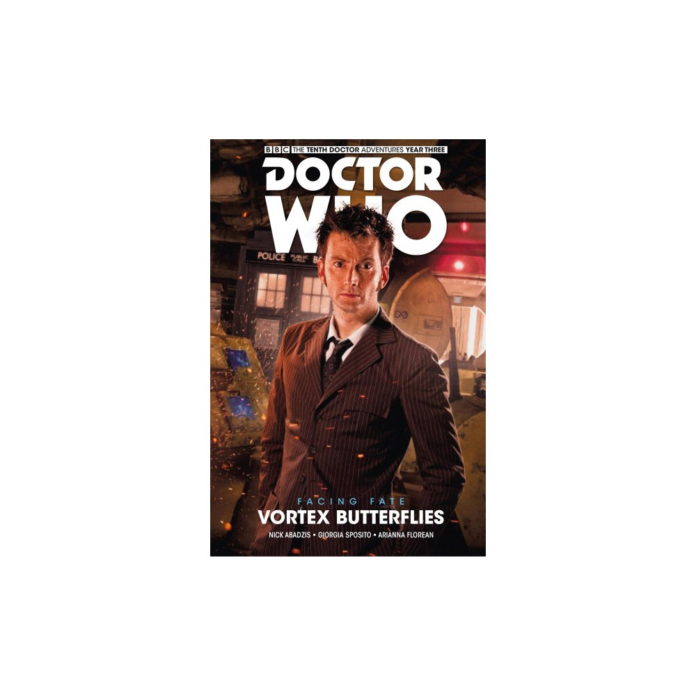 Doctor Who - the Tenth Doctor - Facing Fate 2 - Vortex Butterflies - by Nick Abadzis (Paperback)