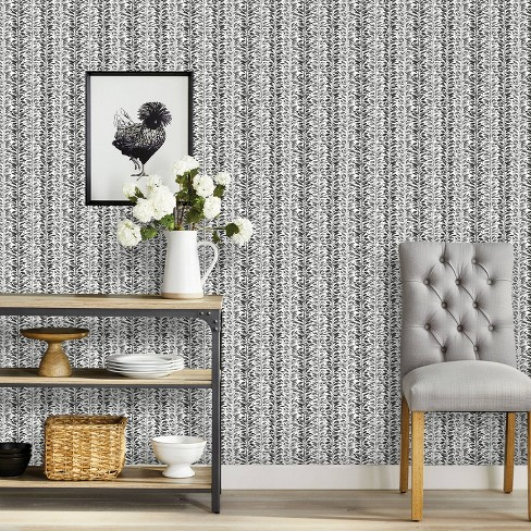 Vine Stripe Peel Stick Wallpaper Threshold Target