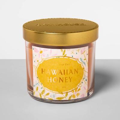 4.1oz Glass Jar Candle Hawaiian Honey - Opalhouse™