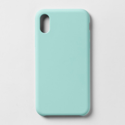 best loved ea92e 709b9 heyday™ Apple iPhone X/XS Silicone Case - Teal