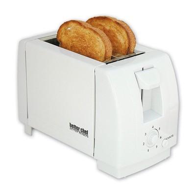 Better Chef 2-Slice Black Toaster