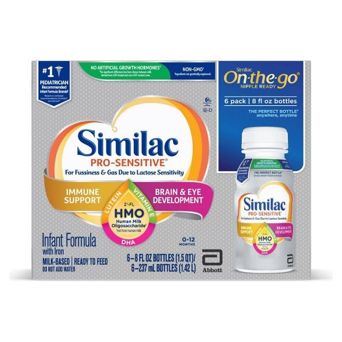Similac Pro-Sensitive Formula - 6ct/8 fl oz Each - image 1 of 4