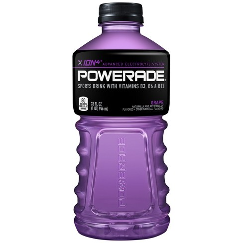POWERADE Grape Sports Drink - 32 fl oz Bottle - image 1 of 3