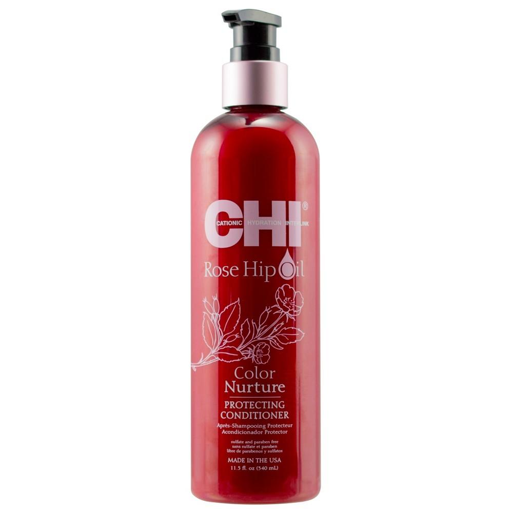 Image of CHI Rose Hip Oil Color Nurture Protecting Conditioner - 11.5 fl oz