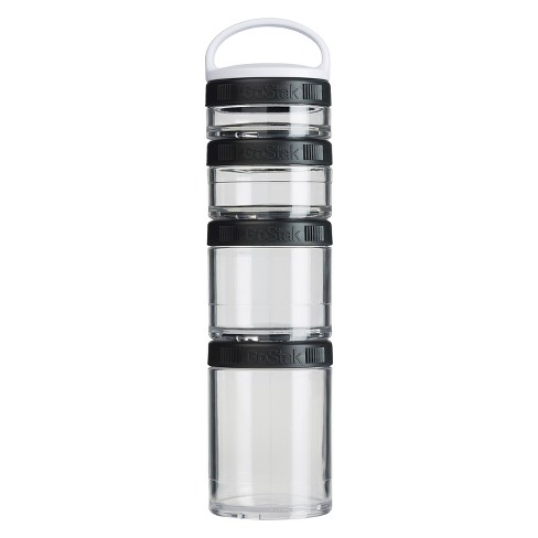 BlenderBottle GoStak Snack Packs Food Containers with Handle 4pc - Black - image 1 of 4
