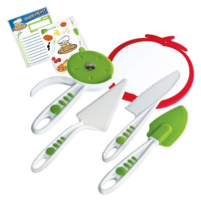 Curious Chef 5pc Pizza Kit