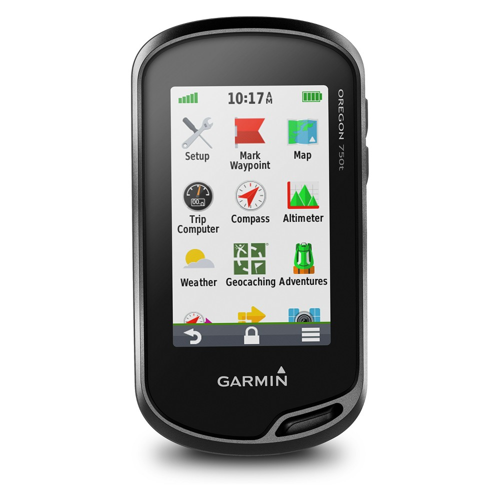 Garmin Oregon 750t, US Topo 100k Hiking Gps - Black (010-01672-30)