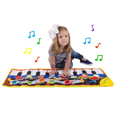 Hey! Play! Step Piano Mat Keyboard