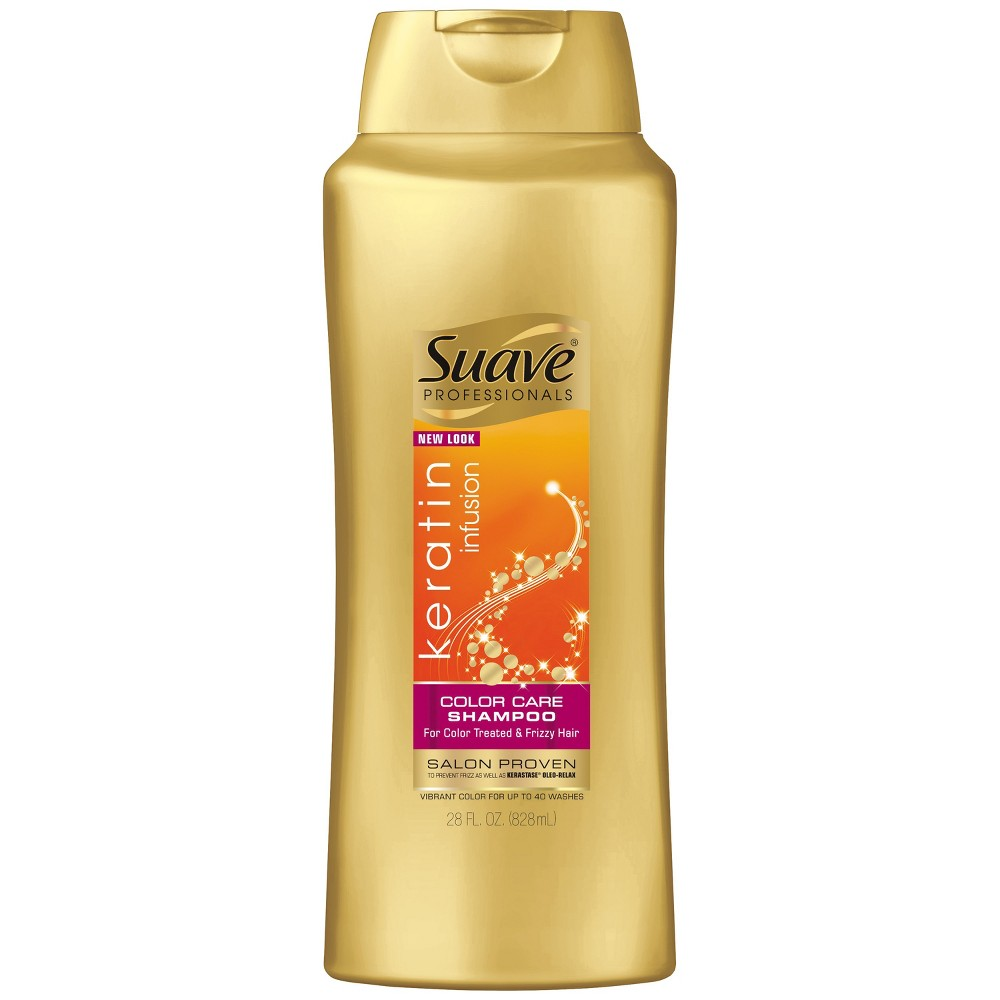 Suave Professionals Keratin Infusion Color Care Shampoo - 28 fl oz